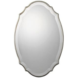 "Uttermost Sannita 30"" High Oval Wall Mirror   #X8323"