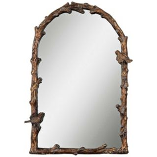 "Uttermost Paza 36 3/4"" High Arch Wall Mirror   #T4860"