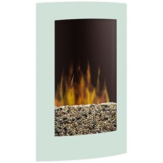 Dimplex Convex White Wall Mount Electric Fireplace   #Y5737