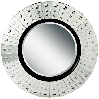 "Kichler Lens 42"" Wide Circular Wall Mirror   #X4408"