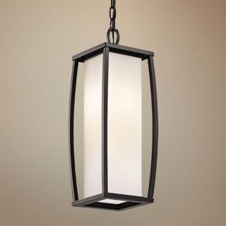 """Kichler Bowen 20 1/4"""" High Bronze Outdoor Pendant Light   #V9788"""