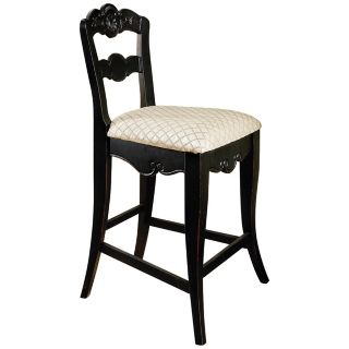 "Hills of Provence Antique Black 24"" High Counter Stool   #N5525"