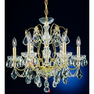 "Schonbek Century Collection 21"" Wide Crystal Chandelier   #28225"