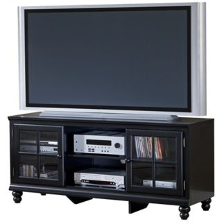 """Hillsdale Grand Bay 61"""" Wide Wood Entertainment Console   #W1124"""