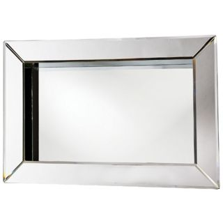 Picture Frame Rectangular 24 Wide Wall Mirror   #H6045