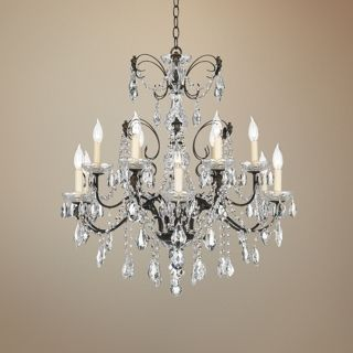 "Schonbek Century Collection 30"" Wide Crystal Chandelier   #98497"