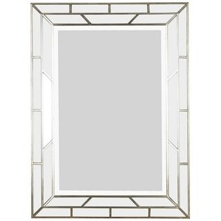 "Silver Web 38"" High Wall Mirror   #T5028"