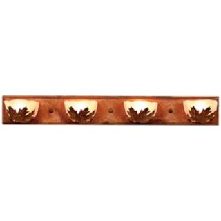 "Logen Collection Maple 33"" Wide Bathroom Light Fixture   #J0545"