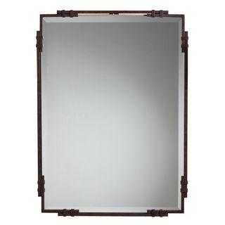 "Silverton Bronze 33"" High Wall Mirror   #58711"