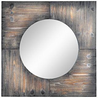 """Cooper Classics Laurent 31 1/2"""" Square Wall Mirror   #X7049"""