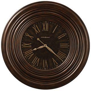 "Howard Miller 36"" Wide Harrisburg Wide Frame Wall Clock   #X6072"