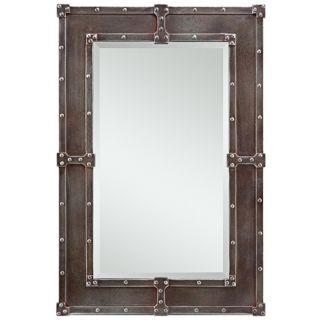 "Cooper Classics Lamare 35"" High Rectangular Wall Mirror   #X7038"