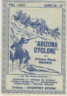 1942 Movie Theater Program The East Side Kids Leo Gorcey Bobby Jordan