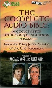 The Complete Audio Bible Michael York Juli Audiobook
