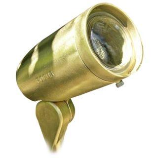 "Cast Brass Bullet 4 3/4"" Low Voltage Landscape Light   #61478"