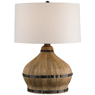 Country   Cottage, Wood Table Lamps