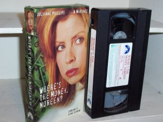 Wheres The Money Noreen 1995 VHS Julianne Phillips