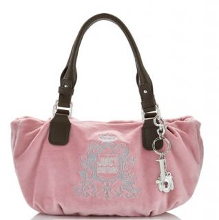 Juicy Couture Pink Etiquette Shoulder Bag Purse Tote Charm w/ Wallet