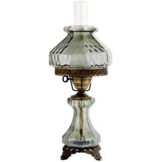 Country   Cottage, Crystal   Glass Table Lamps