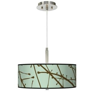 Asian, Art Shade Lighting Fixtures