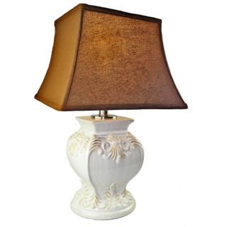White   Ivory, Country   Cottage Table Lamps