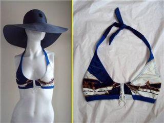 Rosa Cha Barneys NY Rio de Janeiro Sexy Bond Girl Zippered Bikini