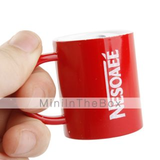 USD $ 3.89   Cup Shape Cigarette Table Lighter Red,