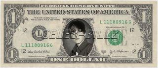 Justin Bieber Dollar Bill V3 Celebrity Novelty Collectible Money Mint