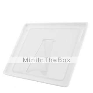USD $ 9.99   High quality Stylish Case and Back Stand for iPad 2(White