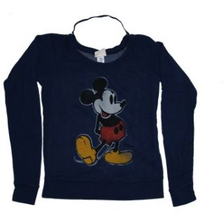 Mickey Mouse Disney Classic Cartoon Junk Food Vintage Style Juniors