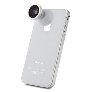 180 Degree Fish Eye Lens for for iPhone, iPad & Other Cellphone (Blue