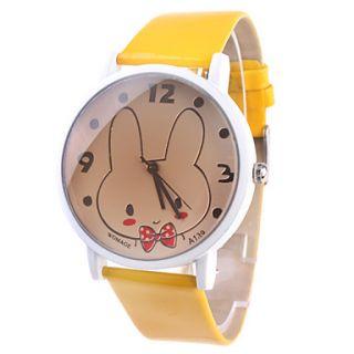 EUR € 4.41   lindo ver el conejo con correa amarilla A139, ¡Envío