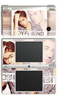 Nintendo DSi Justin Bieber Boyfriend Skins 2012 #1 Beiber new Hair
