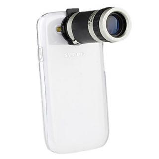 Lente Telescópico de 8X con Carcasa para el Samsung Galaxy S3 I9300