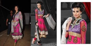 831 Bollywood Replica Ready Made Salwar Kameez Actress Sushmita Sen