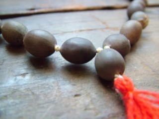 Vrindavan Lotus Seed (Kamal Gatta) Japa Mala 108 Beads Prayer Hindu