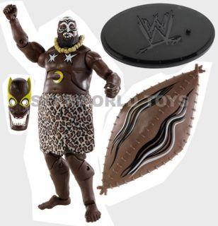 Loose WWE Legends Series 2 Kamala Figure Mattel 2010 Opener New