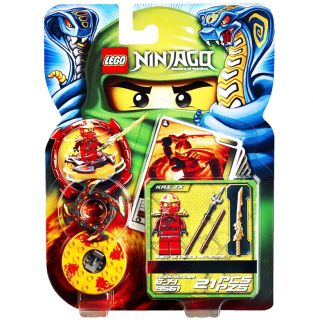 NINJAGO KAI ZX SPINNER SET 9561 minifig battle cards red ninja toy guy