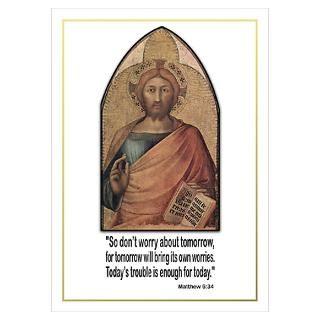 Wall Art  Posters  Bible Verse Matthew 634 Poster