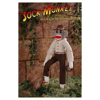 Sock Monkey Posters & Prints