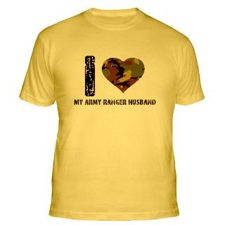 Love My Army Ranger Husband Gifts & Merchandise  I Love My Army