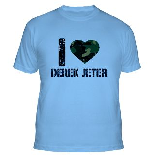 Love Derek Jeter Gifts & Merchandise  I Love Derek Jeter Gift Ideas