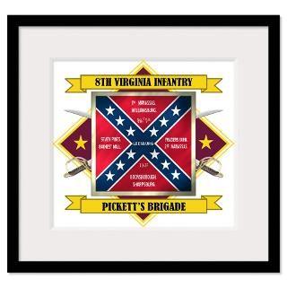 Confederate Flag Framed Prints  Confederate Flag Framed Posters