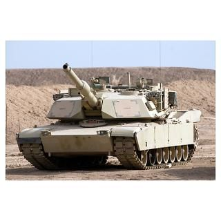 Wall Art > Posters > M1 Abrams tank at Camp Warhorse