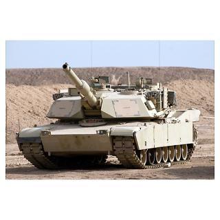 Wall Art > Posters > M1 Abrams tank at Camp Warhorse
