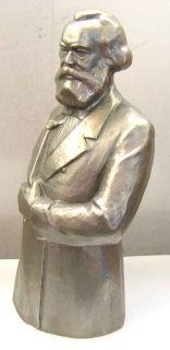 Statue Bust Karl Marx Soviet Statue Russian Lenin Marks