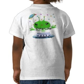 Ultra Cute Anime Aliens Birthday Shirt