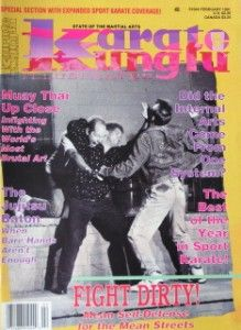 91 Karate Kung Fu Magazine Martial Arts Karyn Turner
