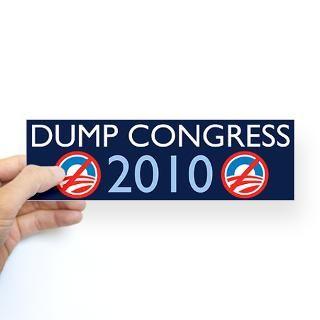 Dump Congress 2010 Sticker (Bumper)