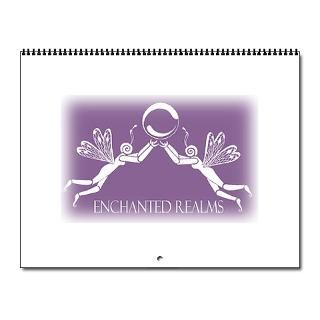 Artwork Home Office > Enchanted Realms 2007 Fairy & Pixie Calendar